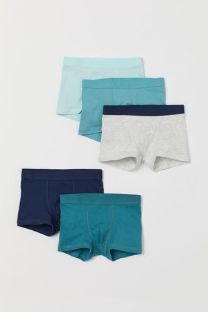 H&M 5-pack boxer shorts - Turquoise