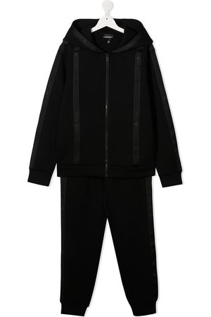 Emporio Armani TEEN two-piece branded tracksuit