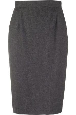 Gianfranco Ferré 1990s knee-length pencil skirt