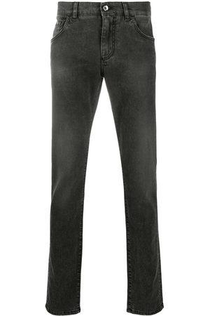 Dolce & Gabbana Men Skinny - Logo plaque jeans