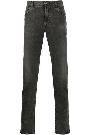 Dolce & Gabbana Men Slim - Lightly distressed slim jeans
