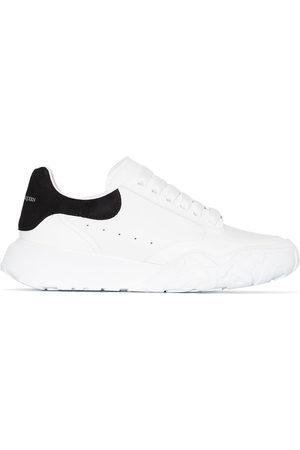 Alexander McQueen Court leather low top sneakers