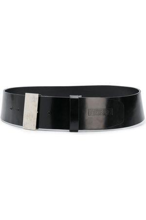 Gianfranco Ferré 2000s logo embossed belt