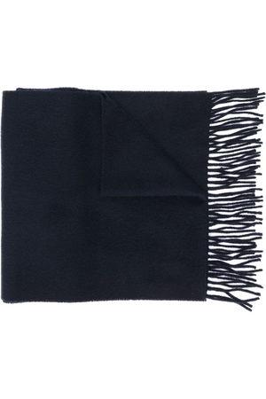Yves Saint Laurent Woven fringed scarf