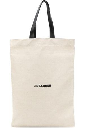 Jil Sander Linen tote bag