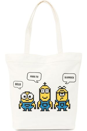 MOSTLY HEARD RARELY SEEN Minion tote bag