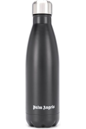 Palm Angels Logo print water bottle