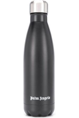 Palm Angels Men Caps - Logo print water bottle