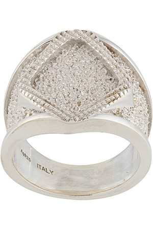Bottega Veneta Chunky chevalier ring