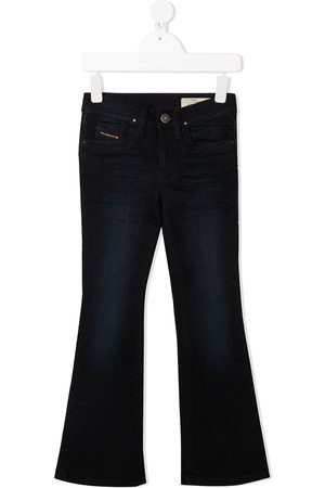 Diesel Mid-rise flared jeans