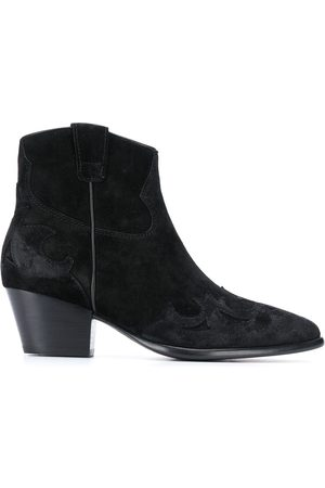 Ash Harlow suede ankle boots