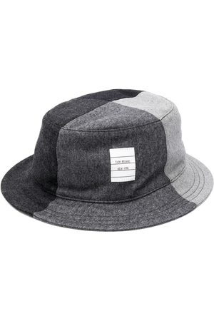 Thom Browne Super 120s flannel bucket hat
