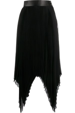 Loewe Pleated asymmetric skirt
