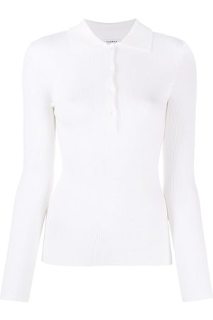 P.a.r.o.s.h. Leila ribbed polo top