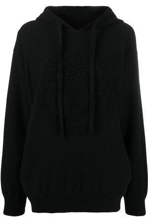 VERSACE Medusa wool hoodie
