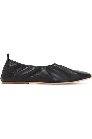 REJINA PYO 7mm Leather Ballerinas