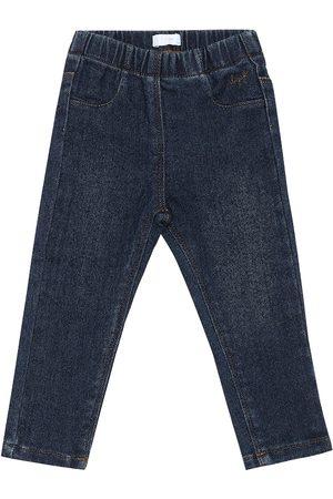 Il gufo Baby stretch-denim jeans