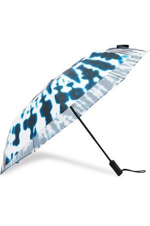 London Undercover Midnight Tie-Die Auto-Compact Umbrella