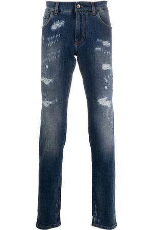 Dolce & Gabbana Men Slim - Distressed slim-fit jeans