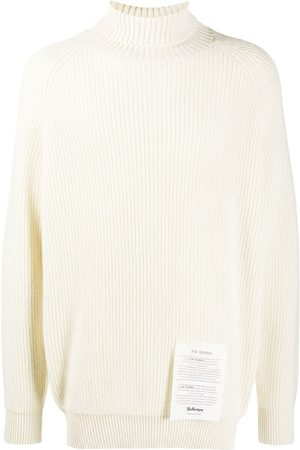 BALLANTYNE Roll-neck cashmere jumper