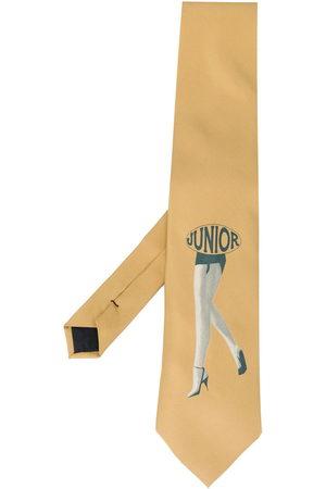 Jean Paul Gaultier Boys Bow Ties - 1980s junior print tie