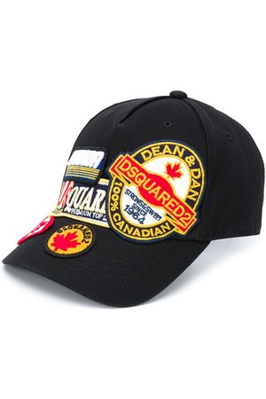 Dsquared2 Embroidered patchwork cap