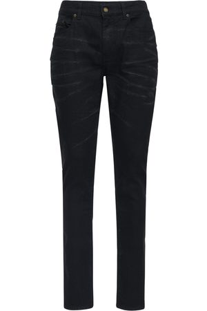 Saint Laurent 16cm Skinny Stretch Cotton Denim Jeans