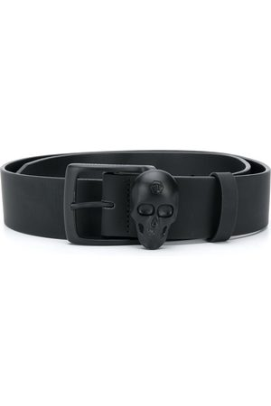 Philipp Plein Skull buckle belt