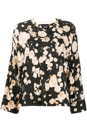 Moschino Floral long-sleeve jumper