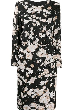 Moschino Floral print shift dress