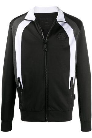 Philipp Plein Skull logo track jacket