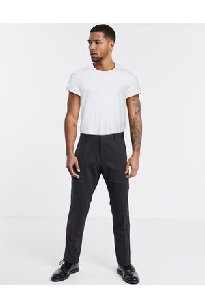 Calvin Klein Paris stretch wool suit trousers