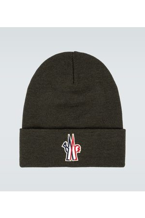 Moncler Knitted wool beanie