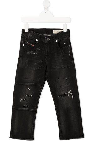 Diesel Distressed skinny-fit jeans