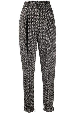 Dolce & Gabbana Tapered tweed trousers