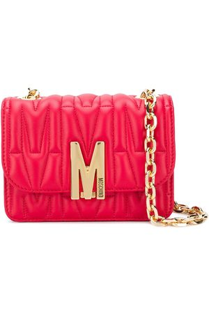 Moschino M-quilted shoulder bag