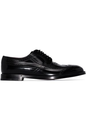 Dolce & Gabbana Men Brogues - Brushed leather brogues