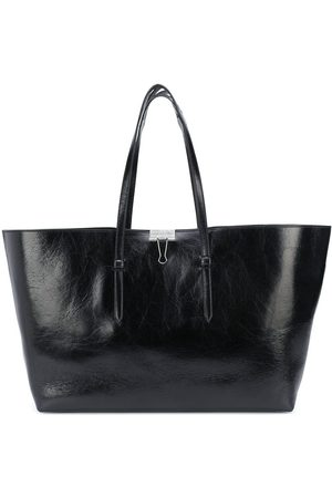 OFF-WHITE Leather tote bag
