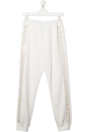 VERSACE Embellished sweatpants
