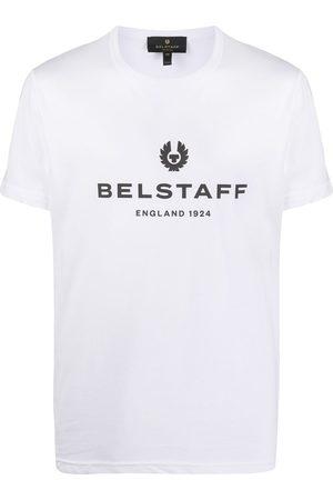 Belstaff Crew neck logo T-shirt