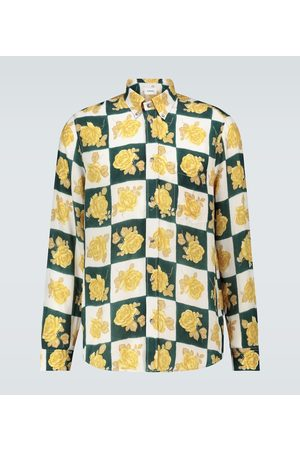 Nanushka Men Long sleeves - Kaleb floral long-sleeved shirt