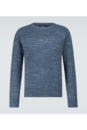 RRL Men Jumpers - Knitted cotton sweater
