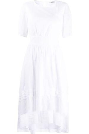 PESERICO SIGN Women Short Sleeve - Short-sleeved pleated dress
