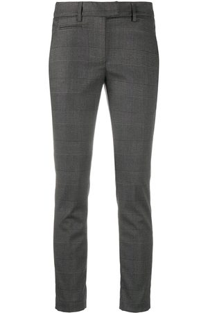 Dondup Checked slim-fit trousers
