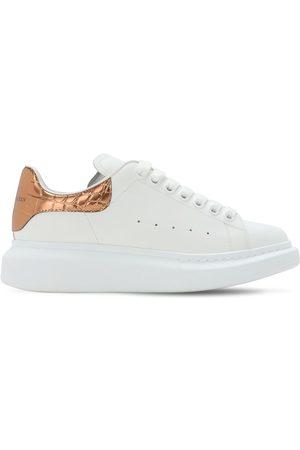 Alexander McQueen 45mm Leather Sneakers