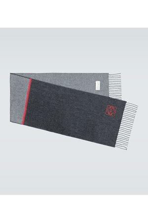 Loewe Window wool and cashmere scarf