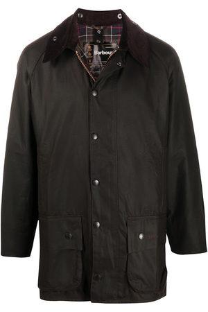 Barbour Beaufort snap-fastening coat