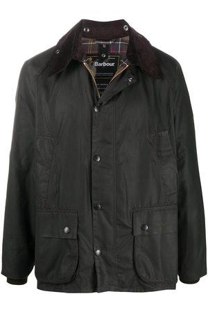 Barbour Bedale snap-fastening jacket
