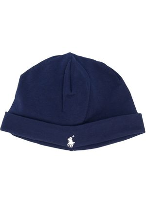 Ralph Lauren Beanies - Logo embroidered beanie hat