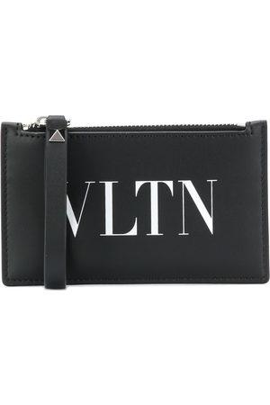 VALENTINO GARAVANI Men Wallets - VLTN logo-print zipped cardholder